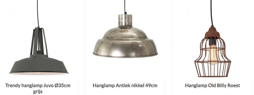 stoere lampen voor een stoere inrichting informatie over